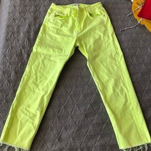 Neon Zara Denim